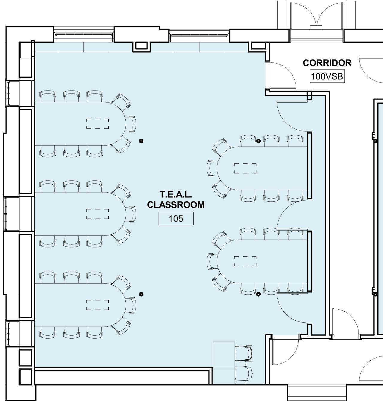Image of Hamilton-Smith TEAL 45-seat blueprint