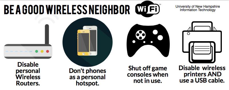 Be a Good Wifi Neighbor