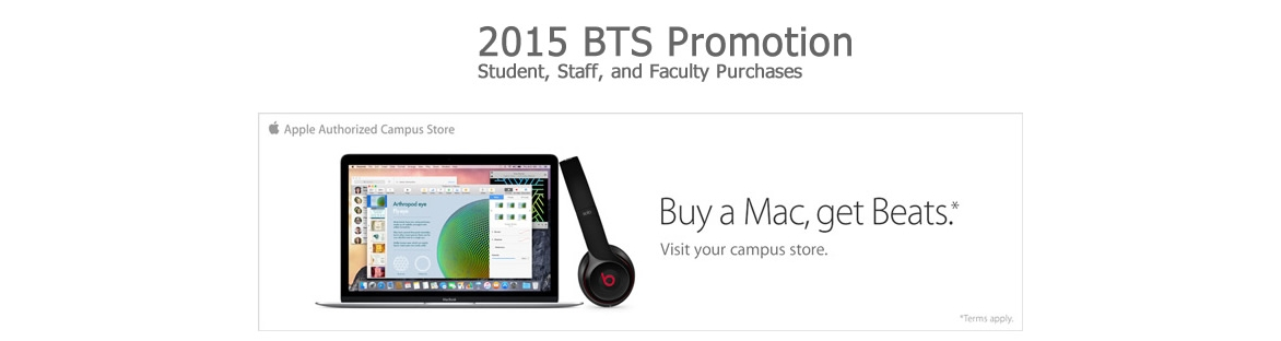 Back to School Apple Promotion