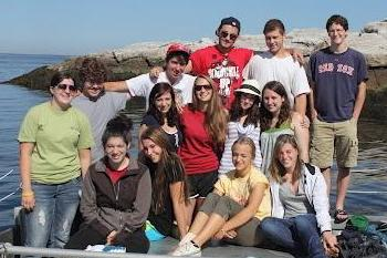 Students at the seacoast