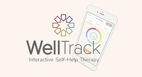 WellTrack graphic for interactive self-help therapy