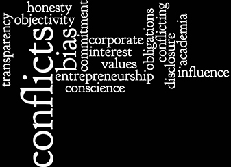 conflict of interest Wordle