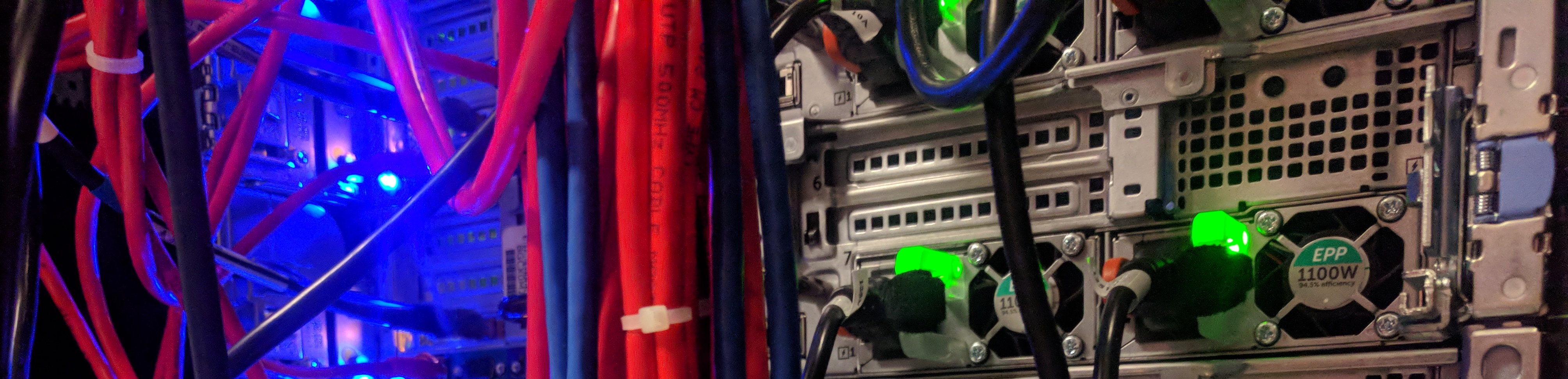 Server and cables
