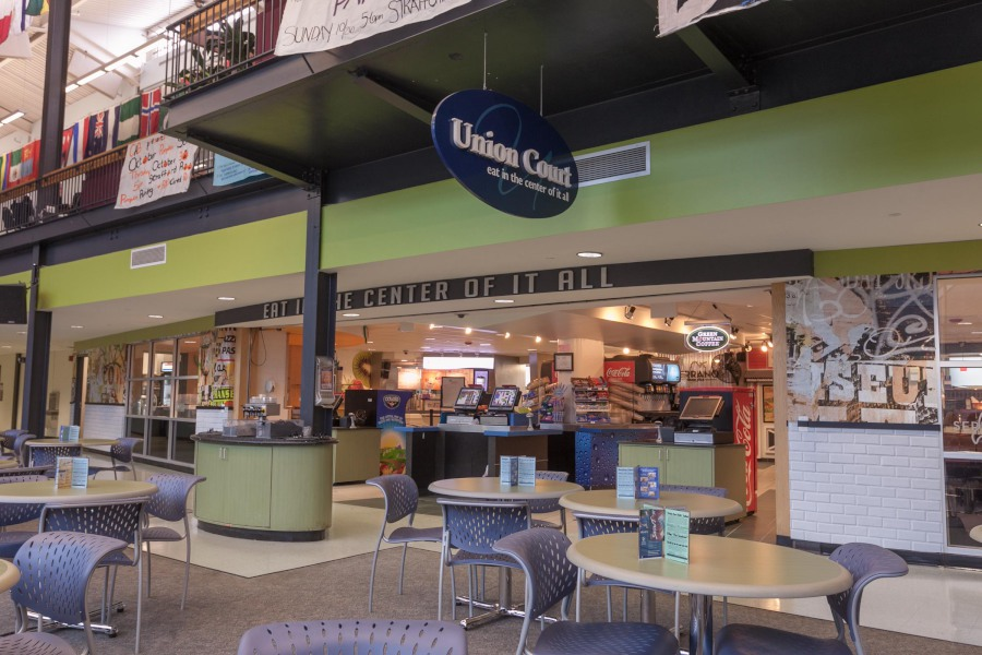 A photo of Union Court dining facility