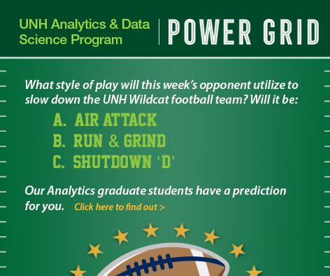 Wildcat Predictions by UNH Analytics & Data Science