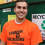 Alex Brunnell Marketing Manager for Trash 2 Treasure