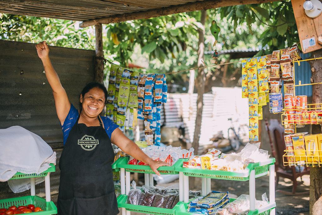 Image of Women in a Market