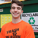 Harrison Zarak-Croke CEO of Trash 2 Treasure