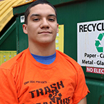Isaiah DeLeon Summer Coordinator for Trash 2 Treasure