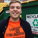 Jake Werner CEO of Trash 2 Treasure