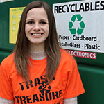 Lexi Mayo Volunteer Coordinator for Trash 2 Treasure
