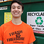 Michael Menary Volunteer Coordinator for Trash 2 Treasure