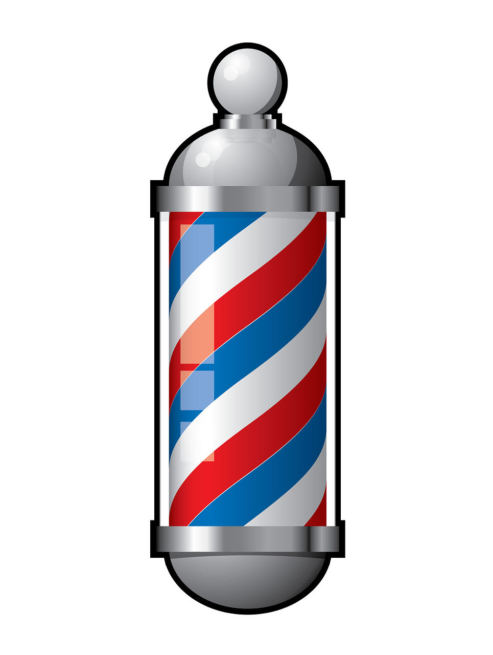 Image of a barber sign