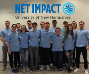 Image of students in Net Impact