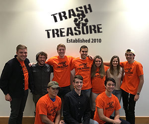 Image of students in Trash 2 Treasure Group