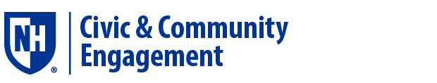 UNH Civic & Community Engagement Logo