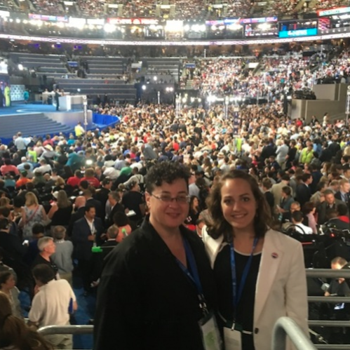 UNH students at the DNC