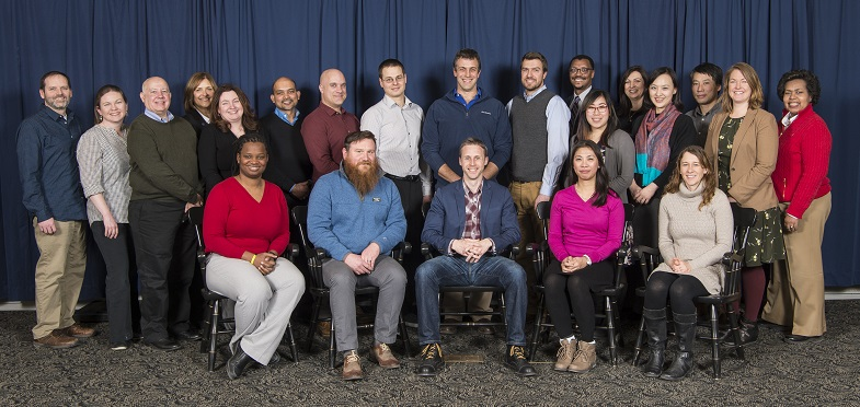 Group Picture 2018 Faculty Scholars and leadership