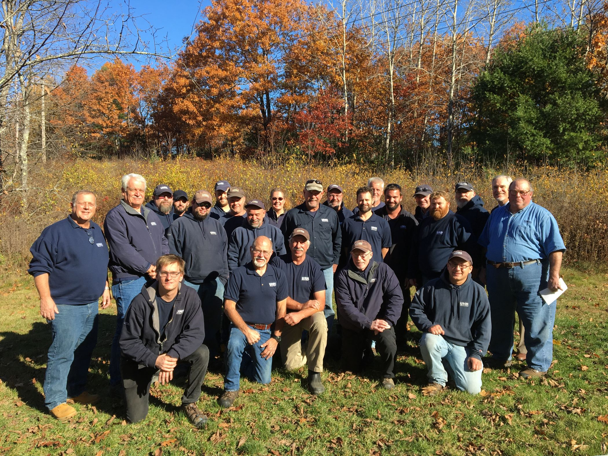 UNH Facilities Grounds and Events crew