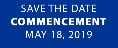 Save the Date for UNH Commencement May 19, 2018