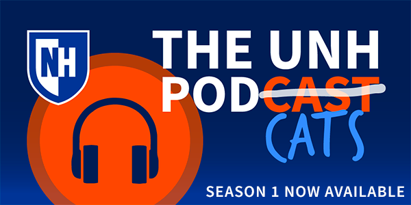 UNH Podcats banner