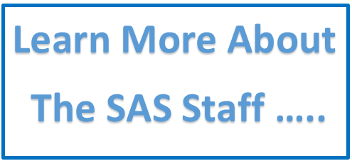 Learn More about the SAS Staff