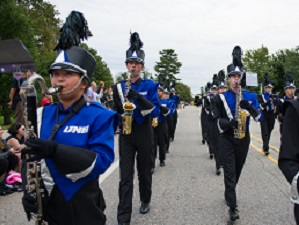 Photo of UNH Marching Band