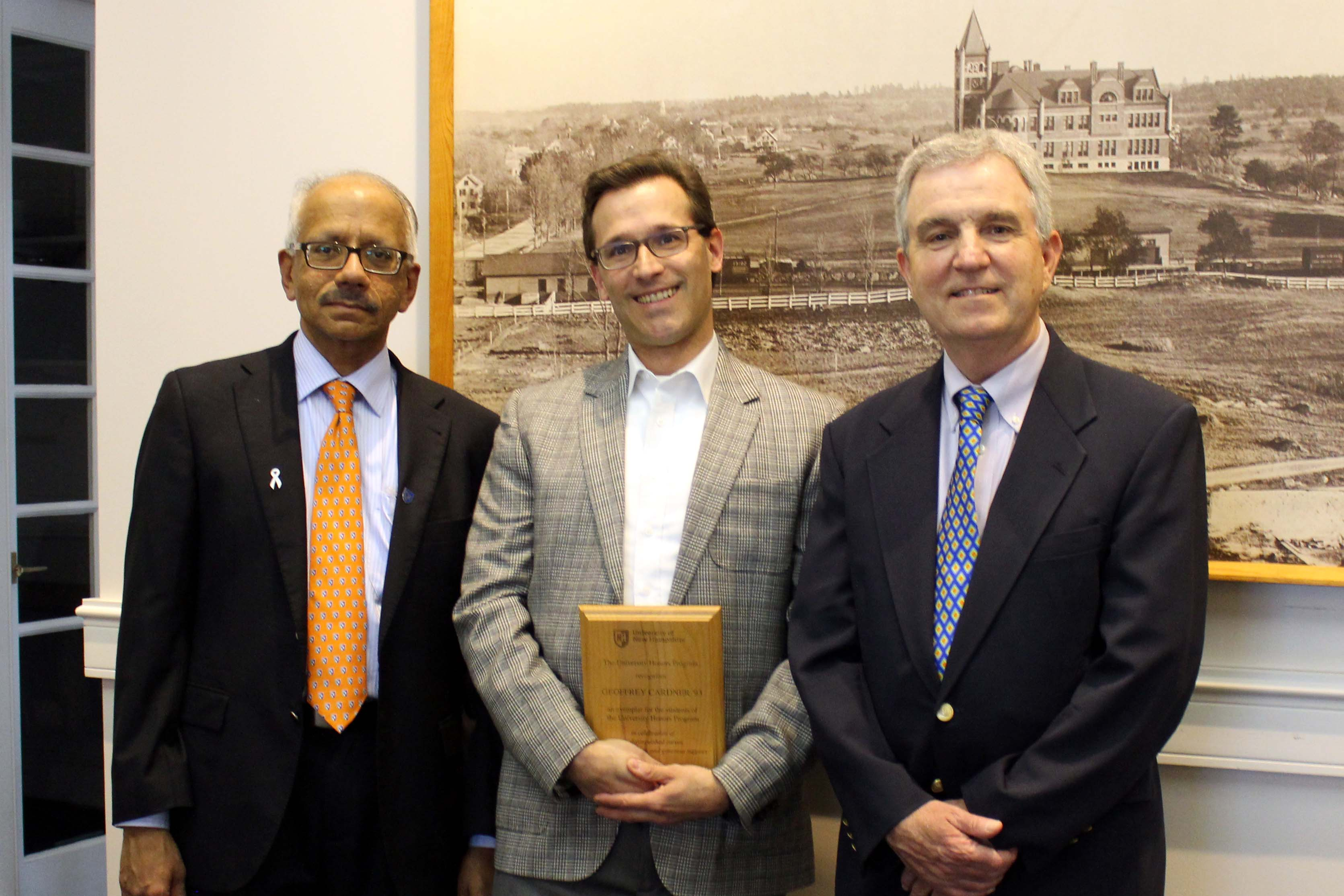 P.T. Vasudevan, Geoffrey Cardner, and Jerry Marx