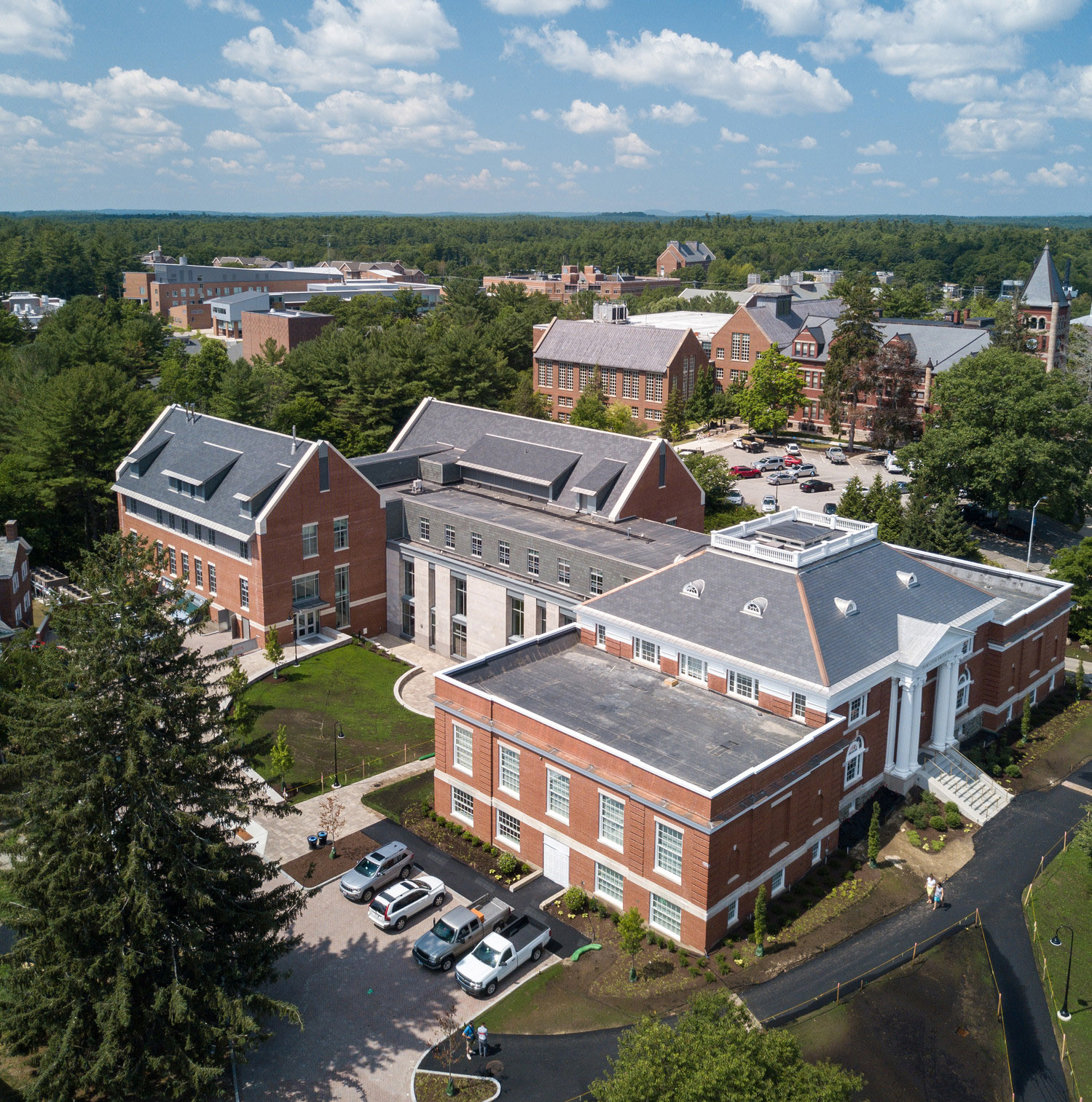 Hamilton Smith newly renovated and open to Faculty and Staff for the Fall 2017 Semester