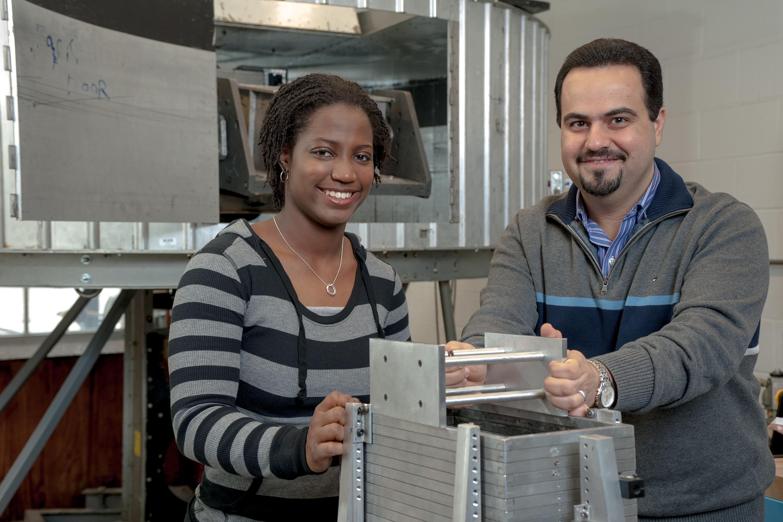 Dr. Majid Ghayoomi and student mentee