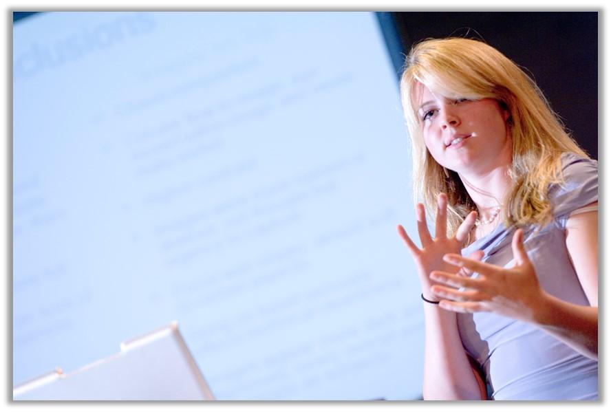 Student's oral presentation