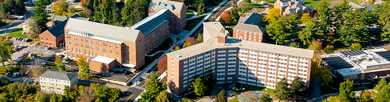 Stoke Hall campus aerial