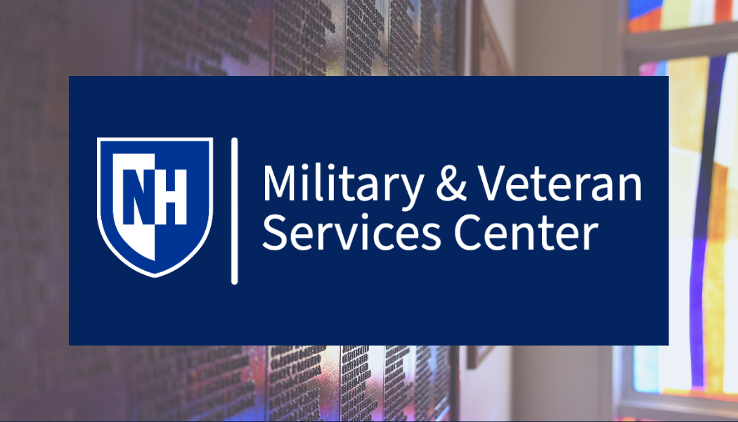 Military and Veteran services title text