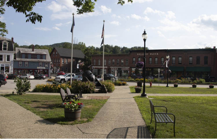 Downtown Bristol, New Hampshire