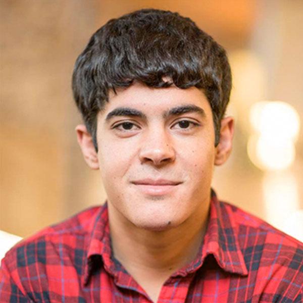 UNH Studen Eddie Alhamdan