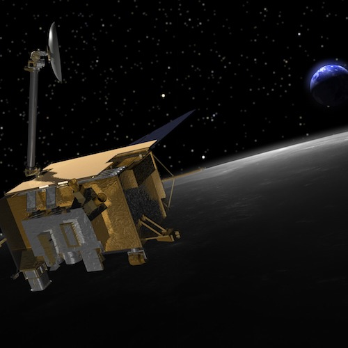 Illustration of NASA's Lunr Reconnaissance Orbiter