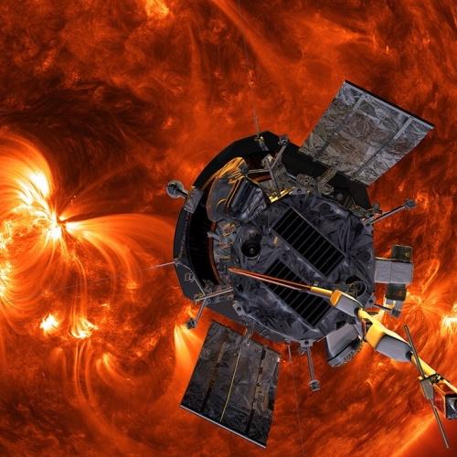 Parker-Solar-Probe-spacecraft-near-the-sun