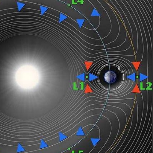 Illustration of sun with data from new magnetometer
