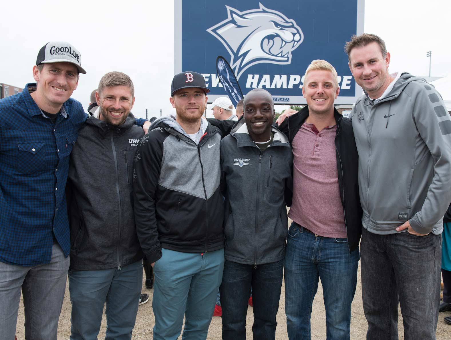 UNH grads at homecoming