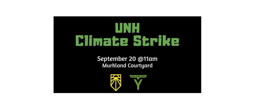 UNH Climate Strike