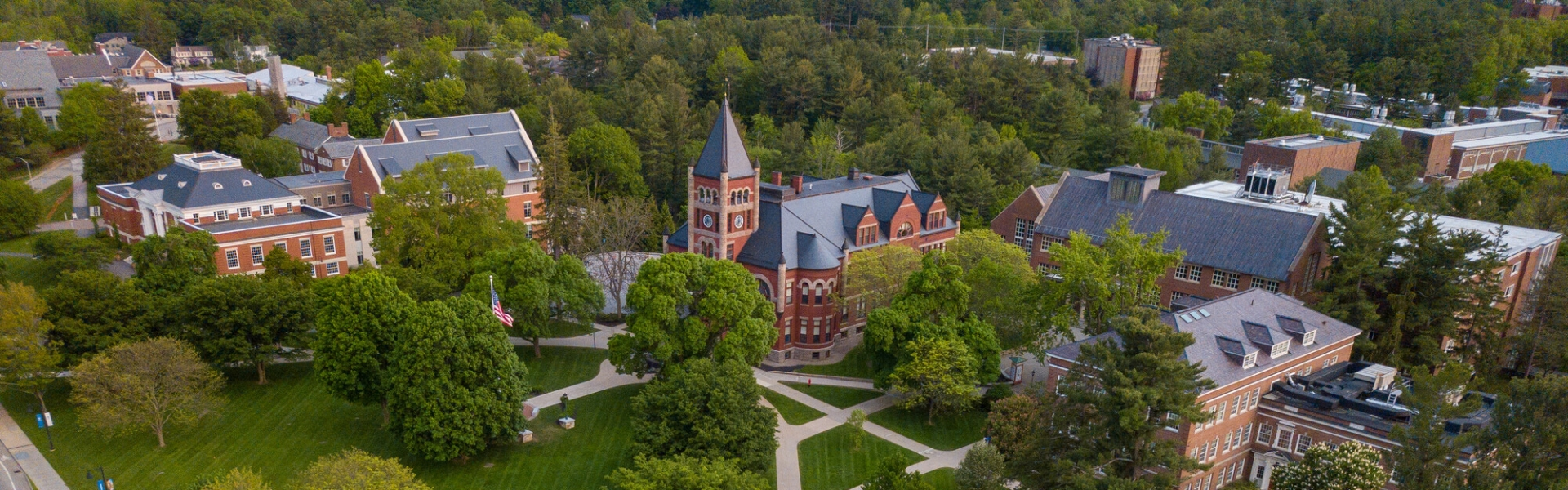 UNH campus aerial image