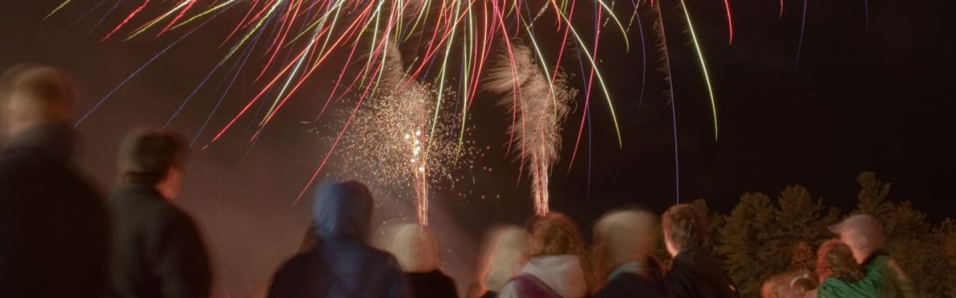 Fireworks at Homecoming
