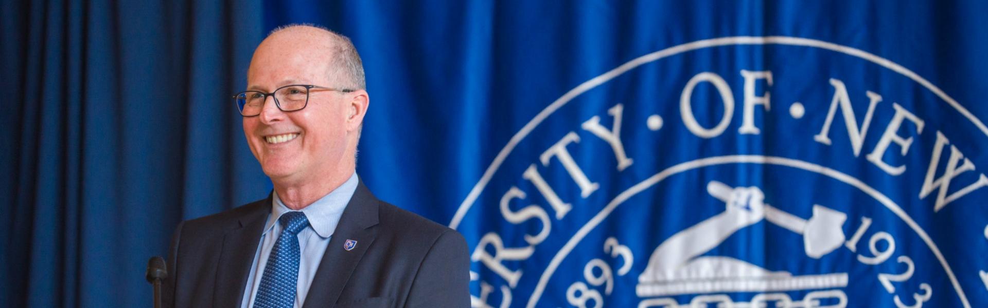 UNH President James W. Dean