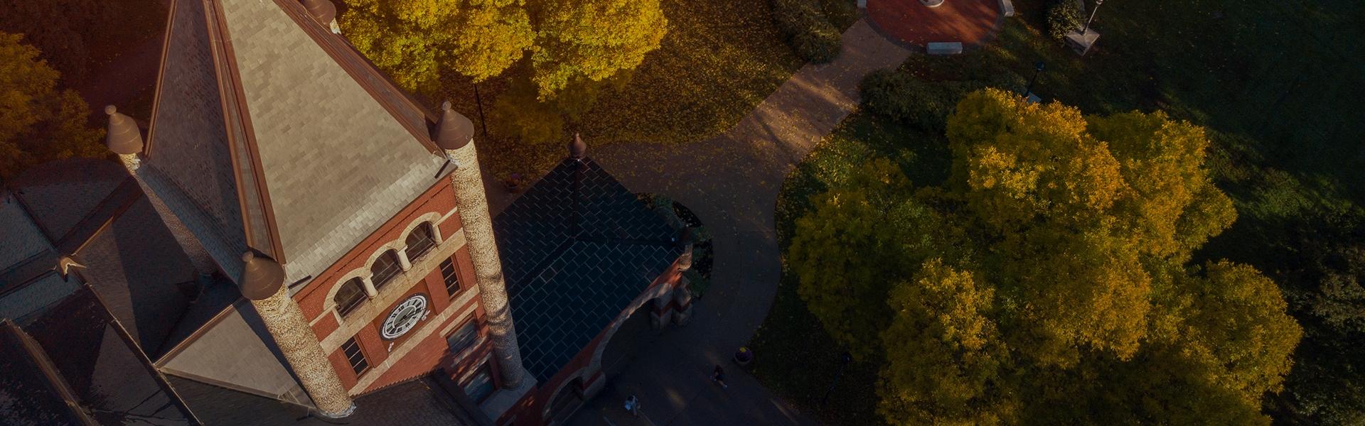 T-Hall aerial