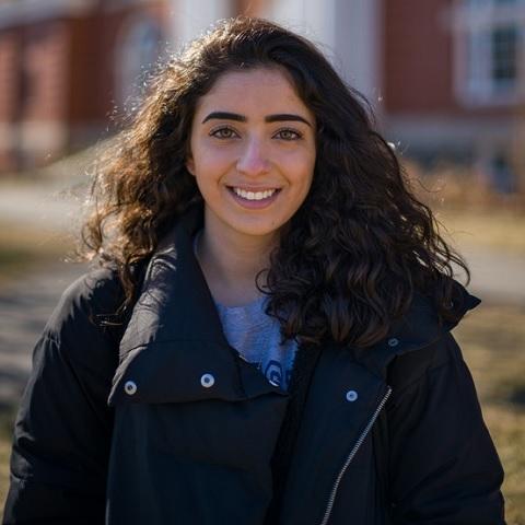 UNH student Nooran Alhamdan '20 COLA
