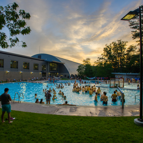 The UNH outdoor pool