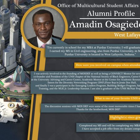 Amadin Osagiede  | Alumni Profile