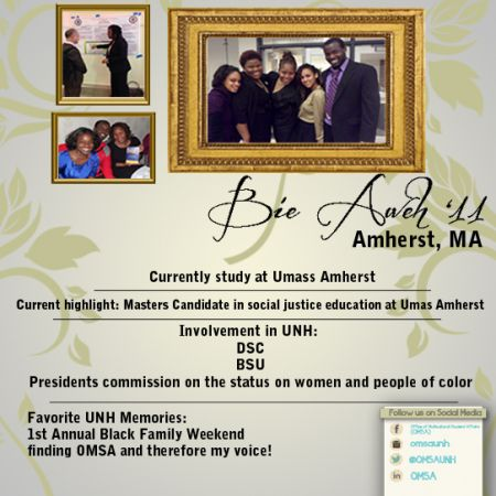 Bie Aweh | Alumni Profile