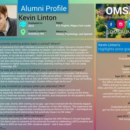 Kevin Linton | Alumni Profile