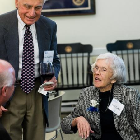 Joan Leitzel with Don Sundberg